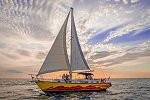 Newlywed Couple on Anse Chastanet's 'Searenity' Sailboat